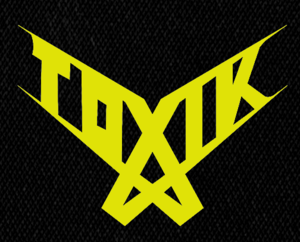 "Toxik - Logo 6x5"" Printed Patch"