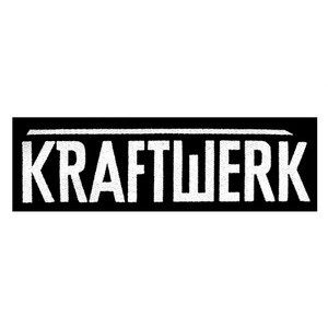 "Kraftwerk - Logo 5x3"" Printed Patch"