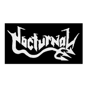 "Nocturnal - Logo 6x4"" Printed Patch"