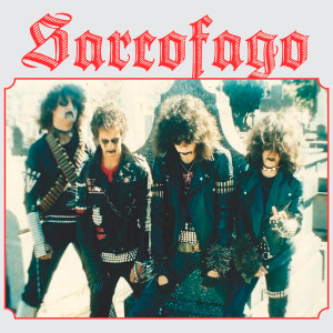"Sarcofago - Band 4x4"" Color Patch"