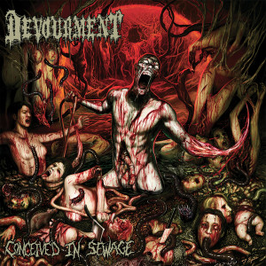 "Devourment - Conceived In Sewage 4x4"" Color Patch"