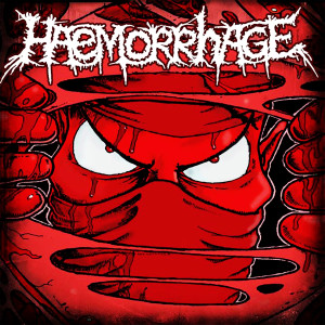 "Haemorrhage - Feasting on Purulence 4x4"" Color Patch"