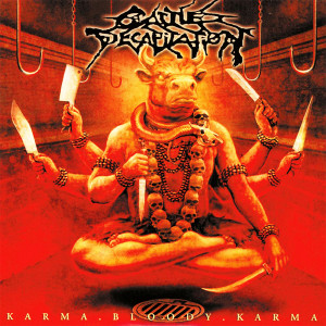 """Cattle Decapitation - Karma Bloody Karma 4x4"""" Color Patch"""