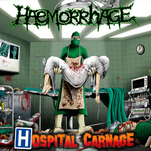 "Haemorrhage - Hospital Carnage 4x4"" Color Patch"