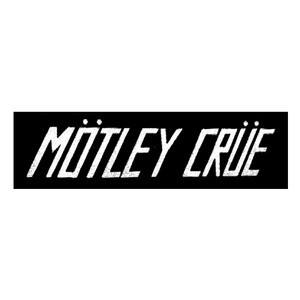 "Motley Crue - Mötley Crüe Logo 6x3"" Printed Patch"