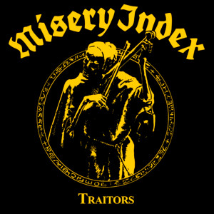 "Misery Index - Traitors 4x4"" Color Patch"