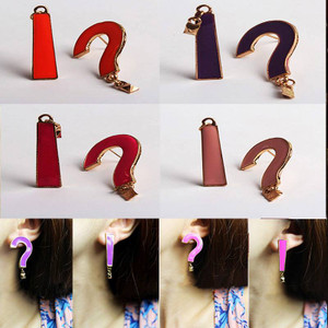 Question Mark and Exclamation Point Earrings