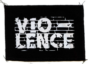 "Vio-lence - Logo 6x4"" Printed Patch"