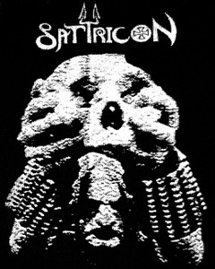 "Satyricon - Skull Demo Cover 5x6"" Printed Patch"
