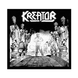 "Kreator - Terrible Certainty 6x6"" Printed Patch"