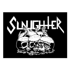 "Slaughter - Logo 5x4"" Printed Patch"