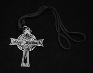Black Sabbath Cross Necklace
