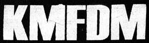 "KMFDM - Logo 6x3"" Printed Patch"