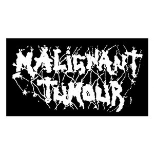 "Malignant Tumour - Logo 6x4"" Printed Patch"