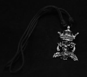 Guns N Roses Top Hat Skull Necklace