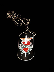 Bon Jovi Dog Tag Necklace