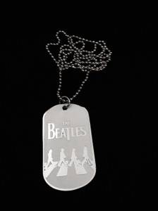 The Beatles Dog Tag Necklace