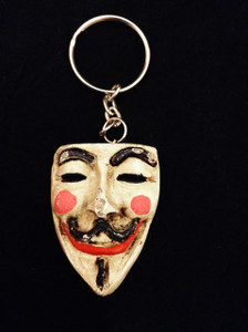 Guy Fawkes Mask Keychain