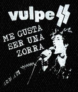 """Vulpess - Me Gusta ser una Zorra 5x6"""" Printed Patch"""