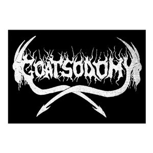"Goatsodomy - Logo 6x4"" Printed Patch"
