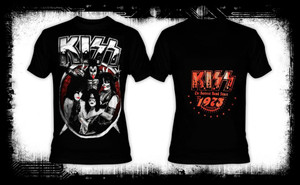 Kiss - The Hottest Band Since 1973 T-Shirt