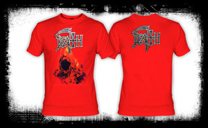 Death - Sound of Perseverance Red T-Shirt