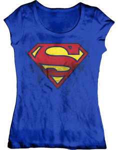 Superman S Symbol Girls T-Shirt
