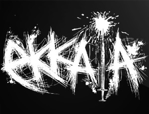 "Ekkaia 5x4"" Printed Sticker"