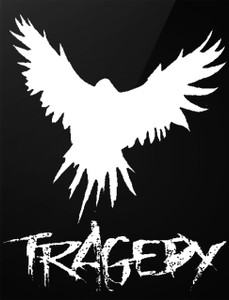 "Tragedy - Nerve Damage 4x5"" Printed Sticker"