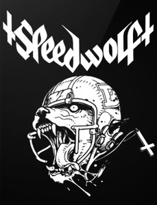 "Speedwolf - Wolf 4x5"" Printed Sticker"