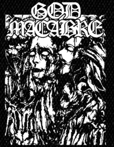 "God Macabre - Grave 5x6"" Printed Patch"