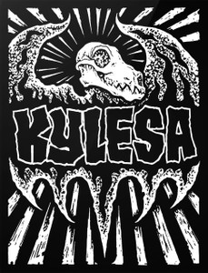 "Kylesa - Logo 4x5"" Printed Sticker"