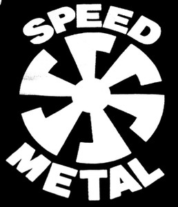 "Speed Metal - Sun 7x5"" Printed Patch"