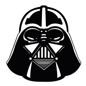 "Star Wars - Darth Vader 3.75x3.75"" Printed Sticker"