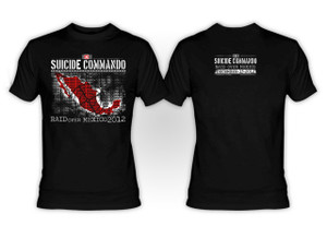 Suicide Commando - Raid Over Mexico 2012 Limited Edition T-Shirt