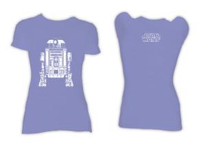 R2D2 Blue Blouse Girls Star Wars