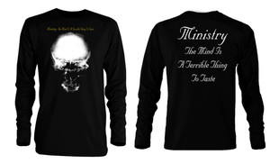 Ministry - The Mind is a Terrible Thing Long Sleeve T-Shirt