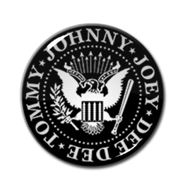 "The Ramones Logo 2.25"" Pin"