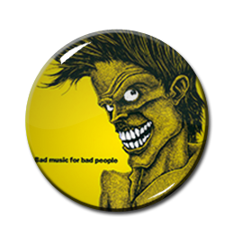 "The Cramps - Bad Music for Bad People 2.25"" Pin"