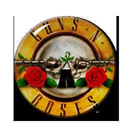 """Guns n' Roses Logo 2.25"""" Pin"""