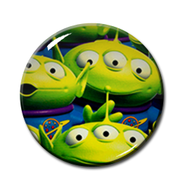 "Aliens Toy Story 2.25"" Pin"