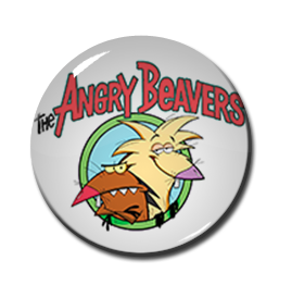 "The Angry Beavers 2.25"" Pin"