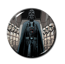 "Star Wars - Darth Vader and Storm Troopers 2.25"" Pin"
