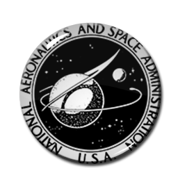 """NASA Old Logo 2.25"""" Pin"""