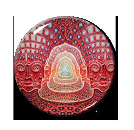 """Mandala Pattern 2.25"""" Pin"""