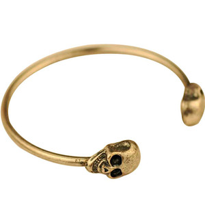 Gold Color Skull Bracelet