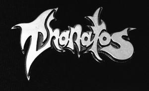 "Thanatos - Logo 2"" Metal Badge Pin"