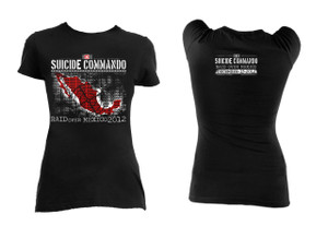 Suicide Commando - Raid Over Mexico 2012 Limited Edition Blouse T-Shirt
