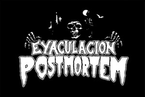 "Eyaculation Post-Mortem 6x4"" Printed Sticker"