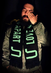 "Joy Division - Love Will Tear Us Apart - 58x9"" Knitted Scarf"